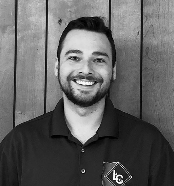 Black and white headshot of Andrew Katz, Purchasing Manager at Leese & Co., Inc.